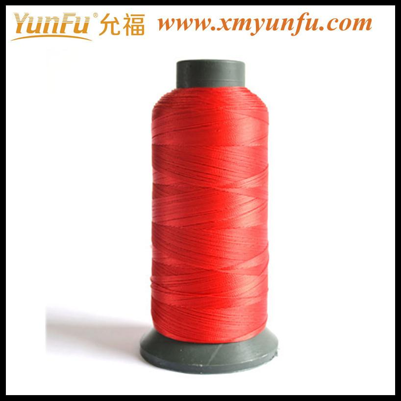 Red 40/2 sewing thread 100 polyester
