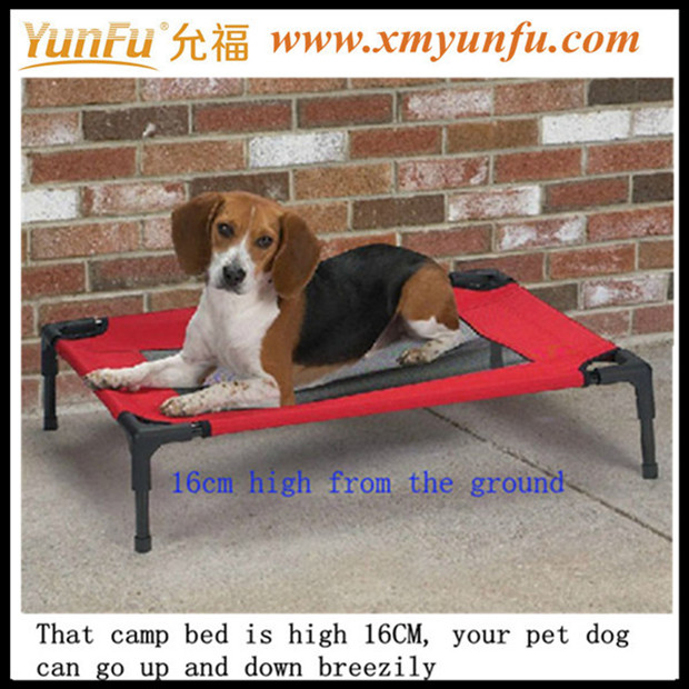 New Red Foldable Pet bed Metal dog bed