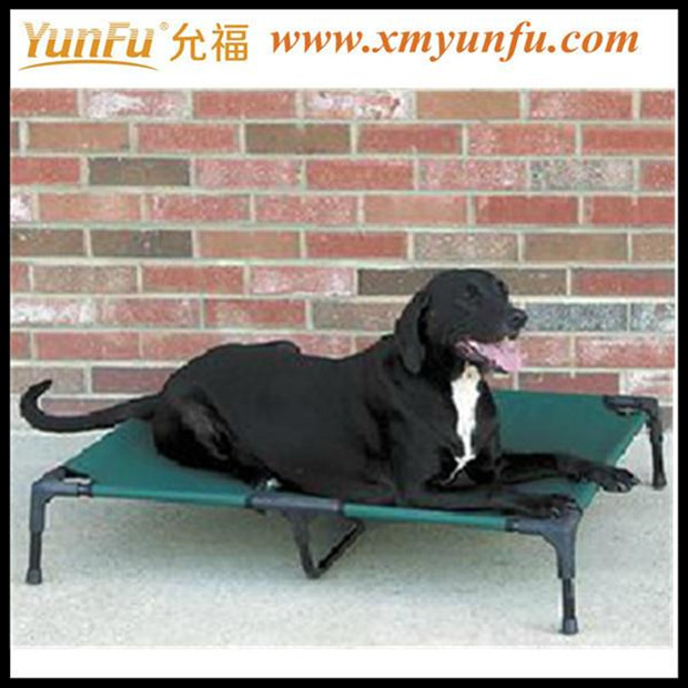 Pleasantly cool Pet bed Wrought iron dog bed