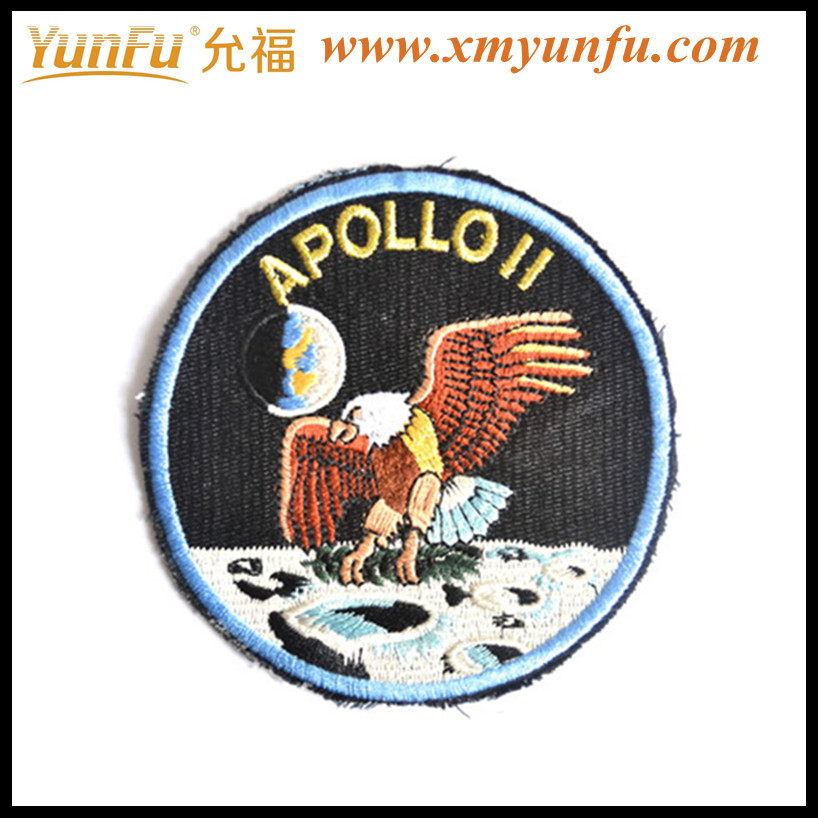 Round Beautiful Custom Patches Embroidery