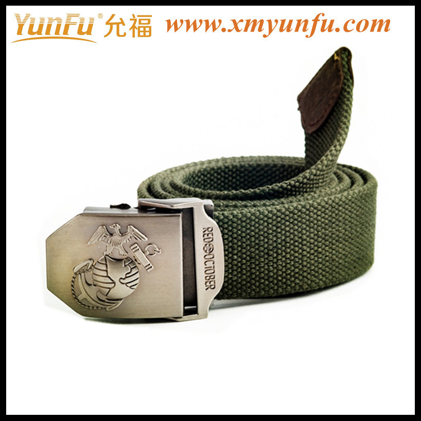 High Quality military men belts With Numbers of Eyelets