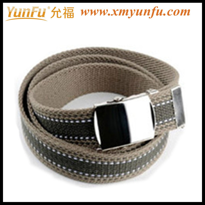 Cheap Multicolor Cotton Canvas Belt