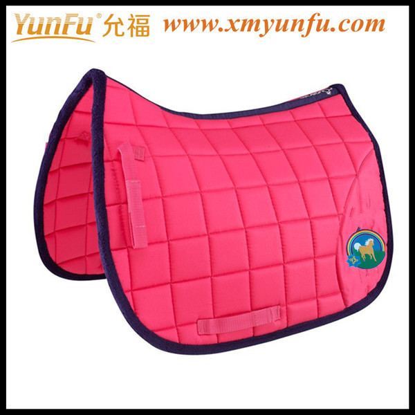 High quality Red Fleece horse pad