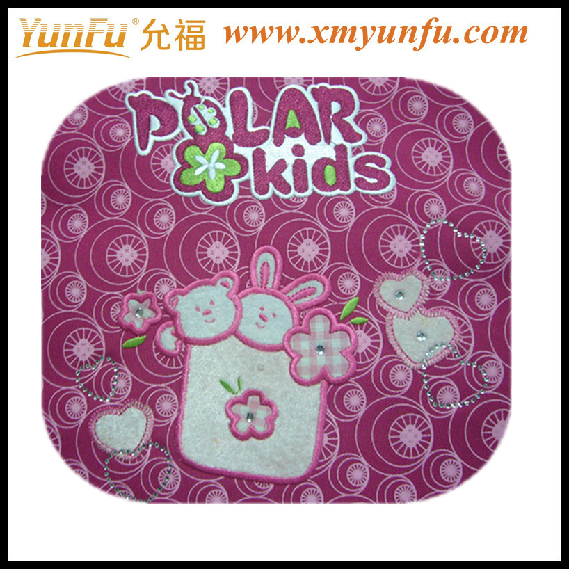 Cute Kids Embroidery Design For Bags