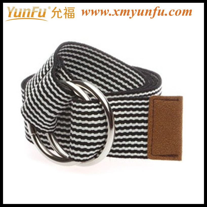 Fashion Boys Webbing Belts With D Ring