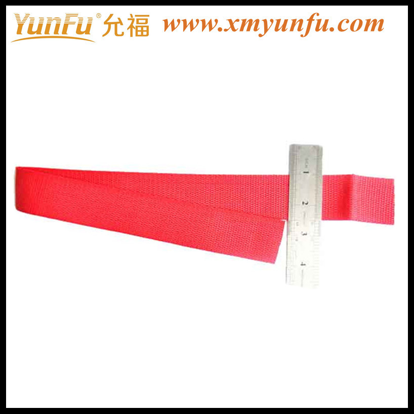 Wholesale Red 1 Inch high strength polyester webbing strap