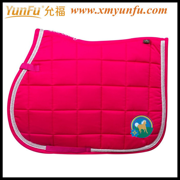Red Horse Jumping saddle pads